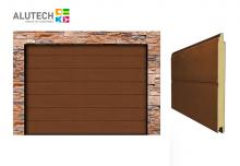 Alutech Trend 2500x2250 Dark Oak M bordás
